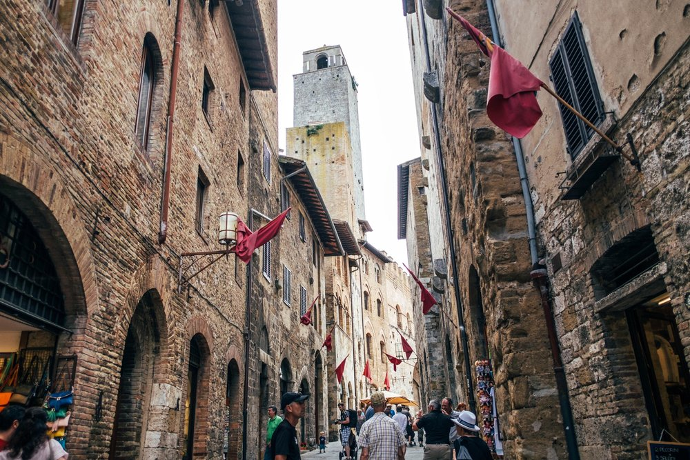 St Gimignano Tuscany Essex Travel Documentary Photographer