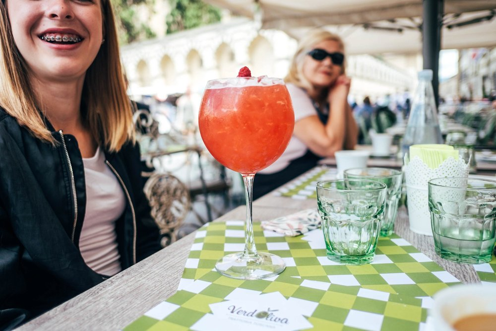 Cocktail in Florence Italy Essex Documentary Wedding Travel Family Photographer