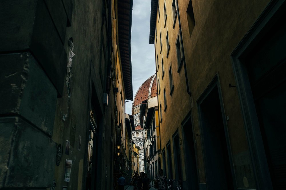 Duomo Florence Essex Documentary Travel Wedding Photographer