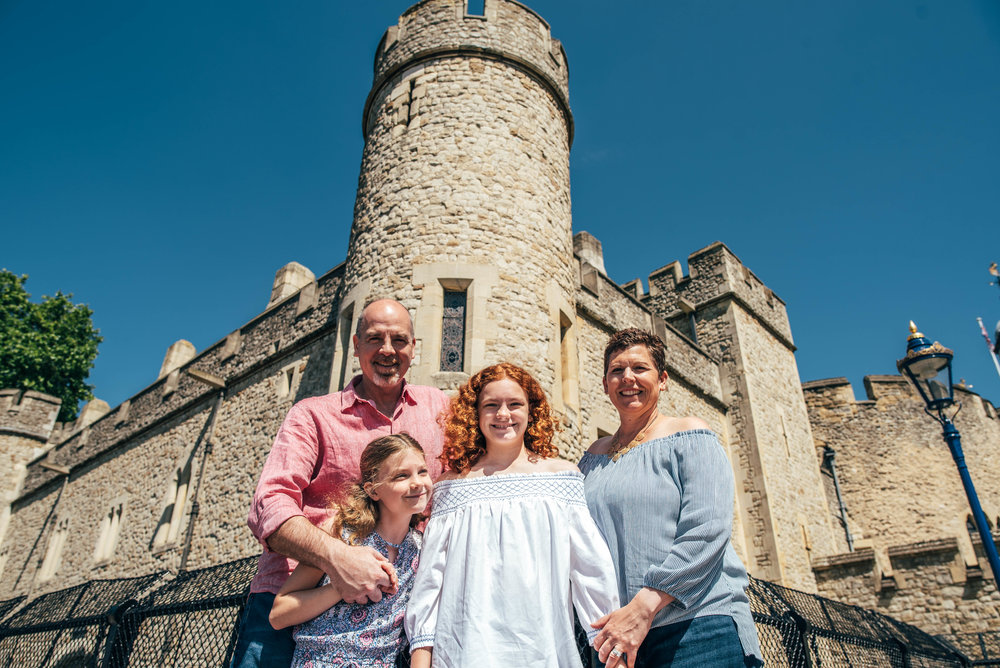 Family Portrait Session Tower Bridge London Essex Documentary Wedding Photographer