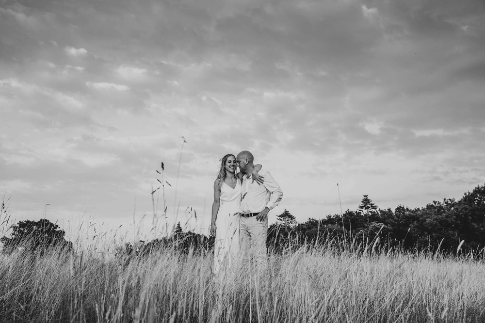 Boho, Festival, Back Garden, Summer Wedding. Bride wears Charlie Brear. Essex Documentary Wedding Photographer