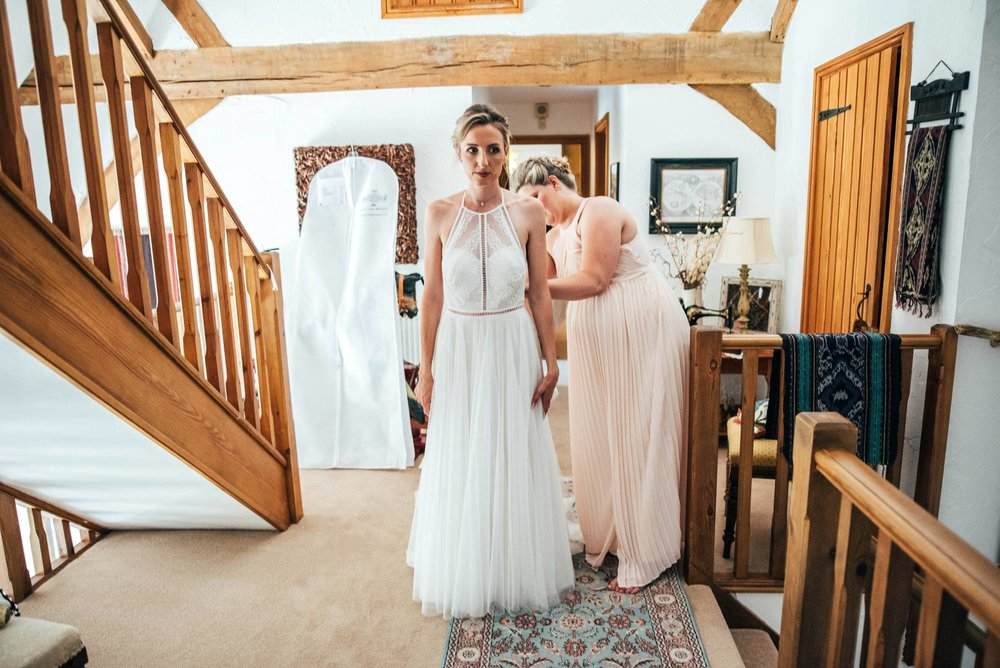 Boho, Back Garden Tipi Wedding, Bride wears Willowby by Watters Essex Documentary Wedding Photographer