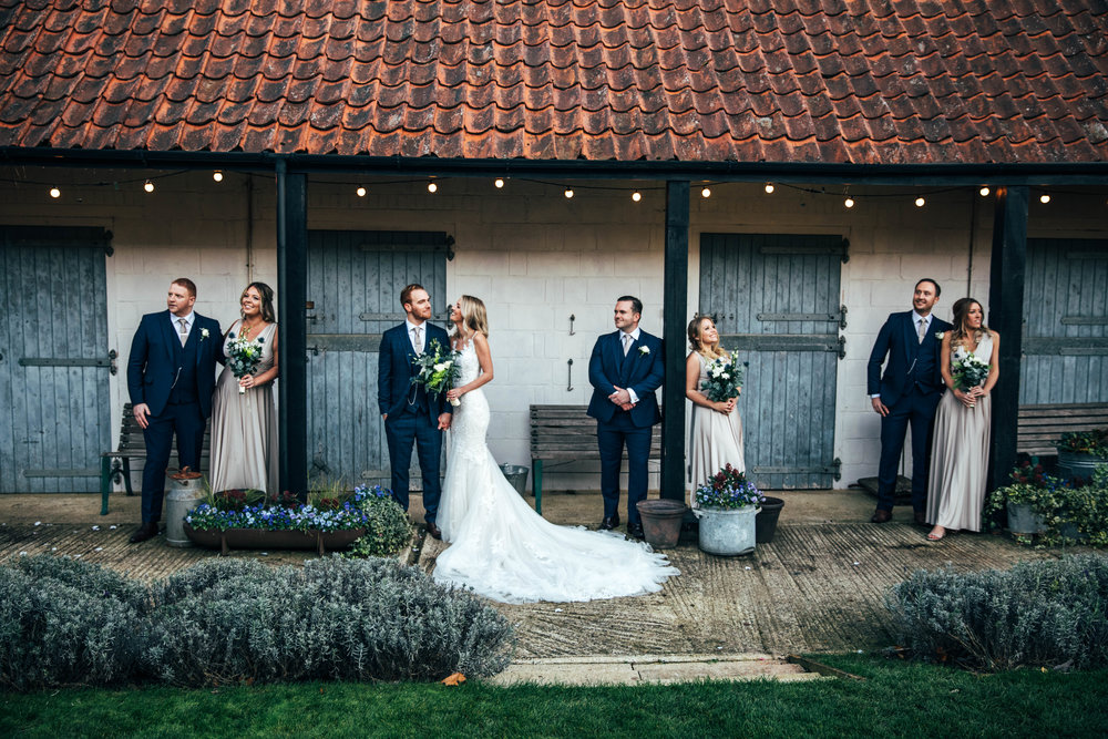 Autumn Wedding Party at The Granary Estates, Woodditton.  Essex Documentary wedding Photographer