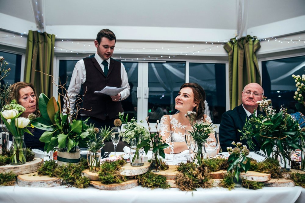 Winter Wedding with Hunter Green and Navy Blues, Bride & Groom include their cat! Essex Documentary Wedding Photographer