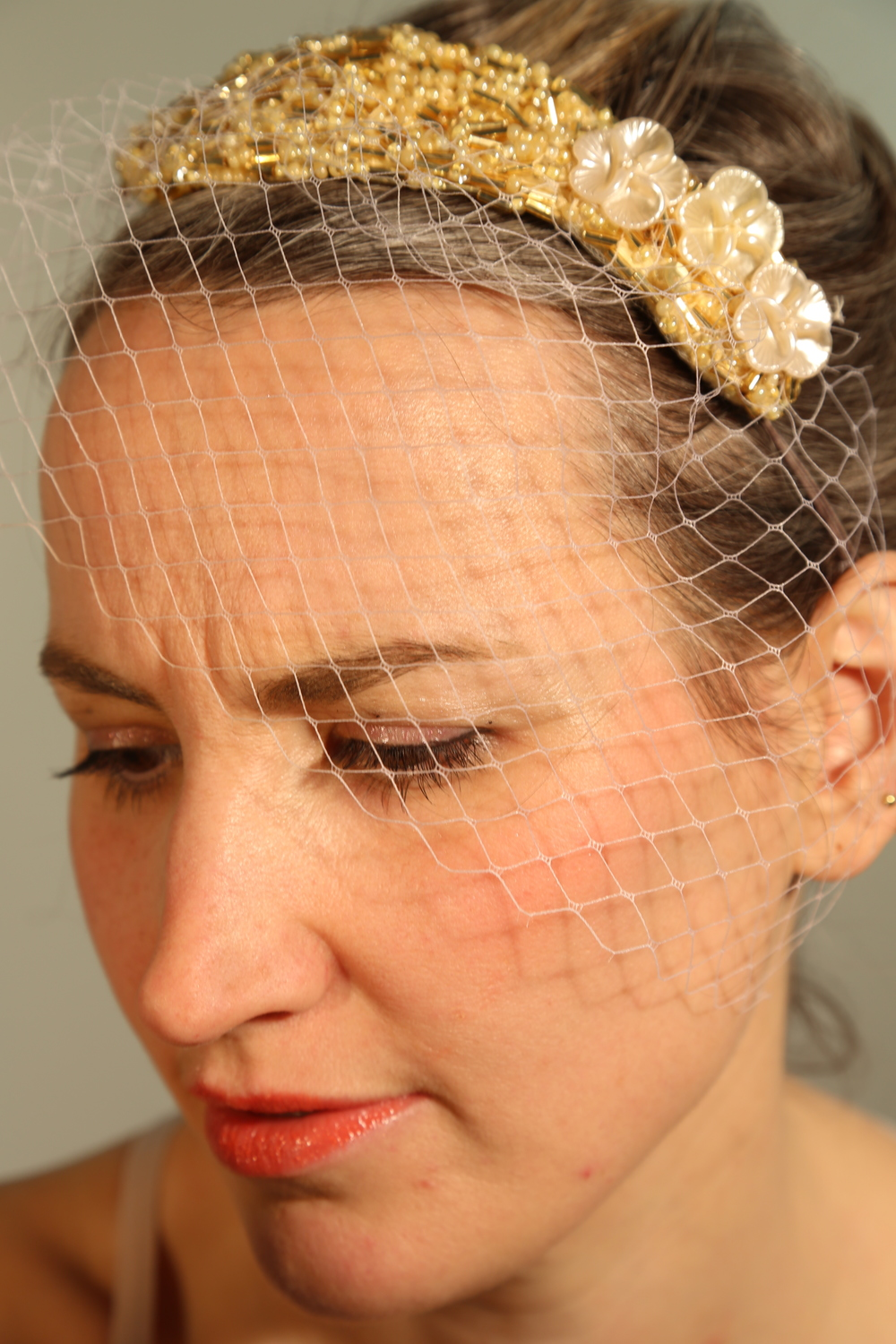Beaded headpiece with half veil.JPG
