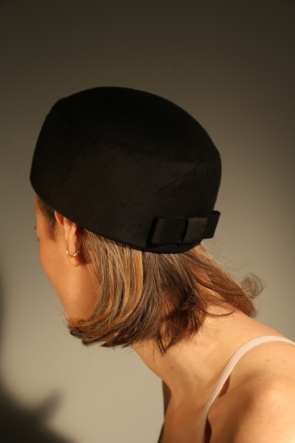 Black Silk Pillbox Eleanor 2.JPG
