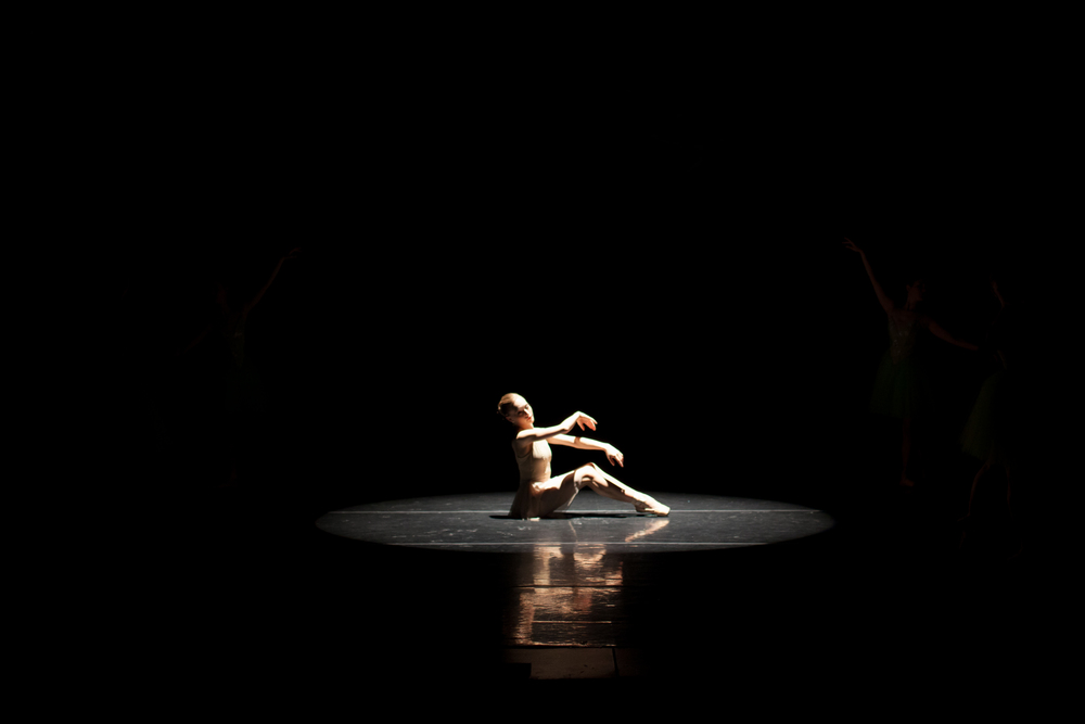 Lead Company Artist Lauren Ader-Cumpston in Spring from Julianna Slag'er s Four Seasons of the soul, peremiered at the Ruth Page Center in Chicago, October, 2014.