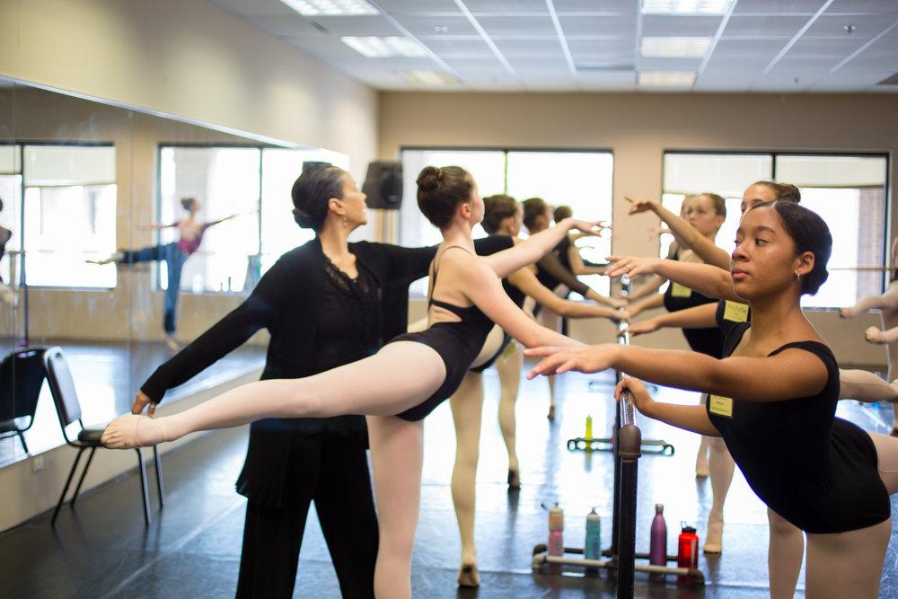 BALLET 5:8 MASTER CLASS - Advanced Classical Ballet Technique // Ages 12+