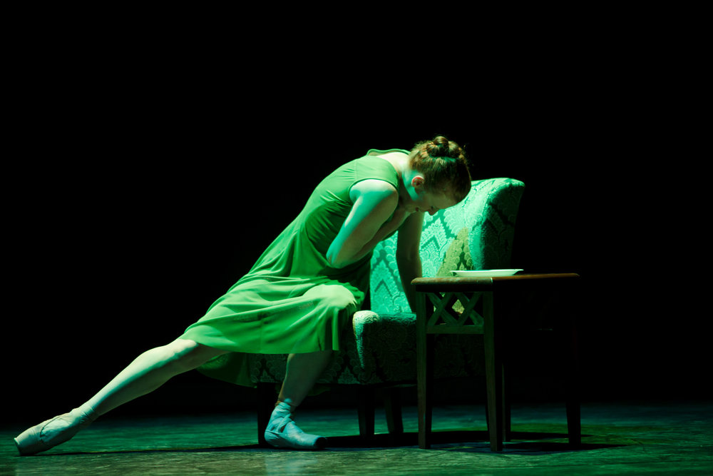 Ballet 5:8's Lorianne Barclay in  The Mother