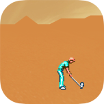 Desert Golfing  Ein sehr simples Golfspiel.
