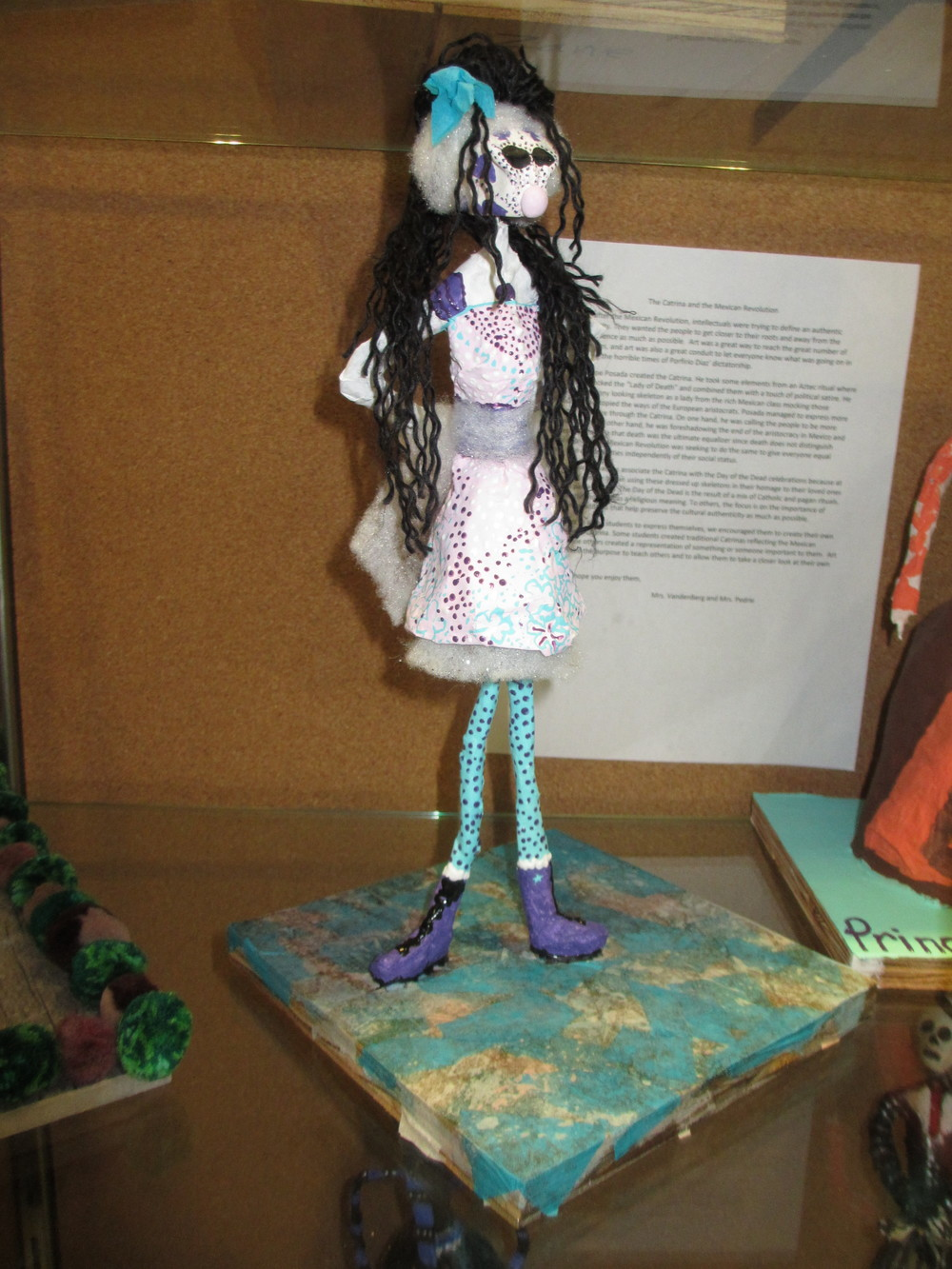 Hannah Phillips Catrina Sculpture.JPG