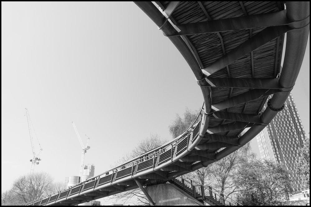 17 April 2019 - Overpass, Manchester UK