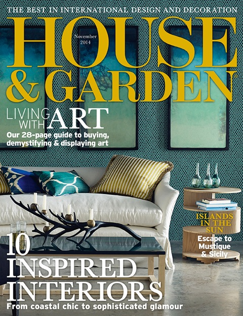 House And Garden Cover Nov 2014