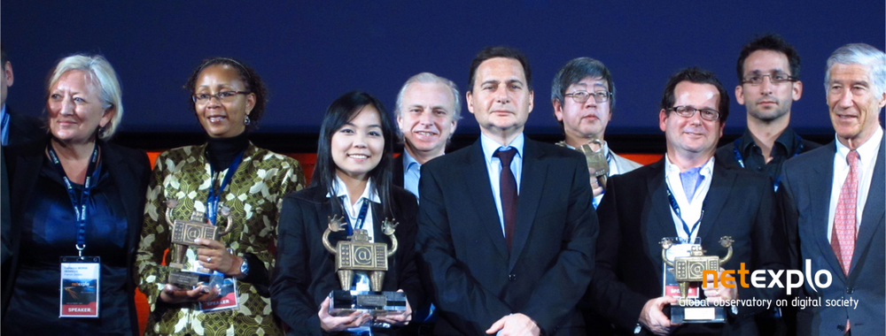 Selene won Grand Prix Award at Netexplo 2012.