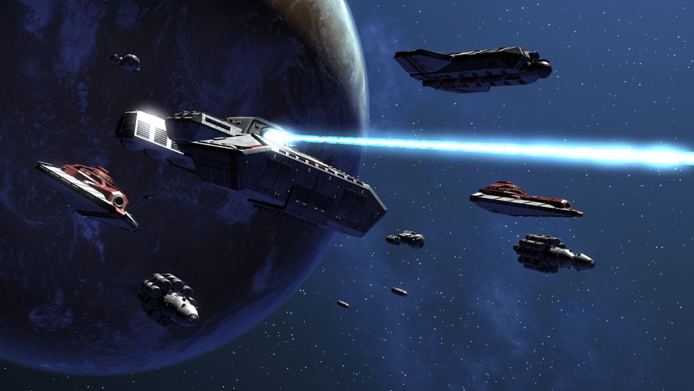 An Imperial fleet on full assault mode!