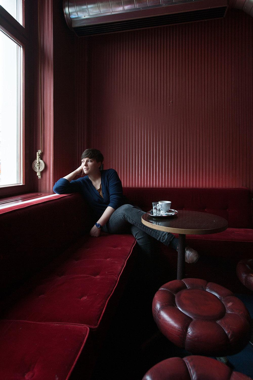 Dorothee Elmiger, Autorin - SonntagsZeitung - 2014