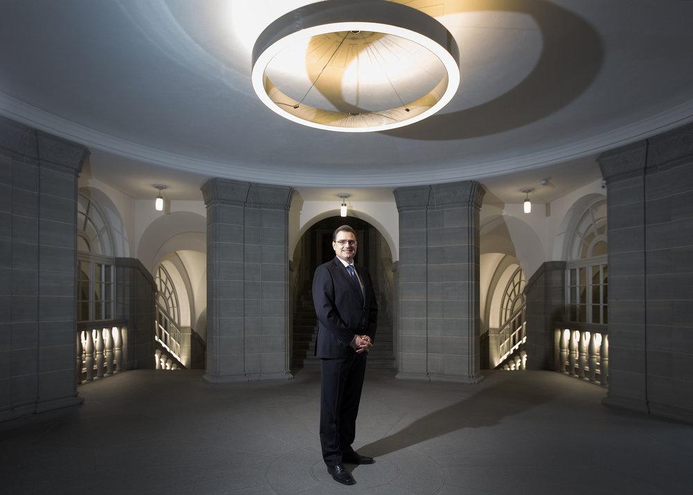 Thomas Jordan, Präsident SNB - Bloomberg - 2016