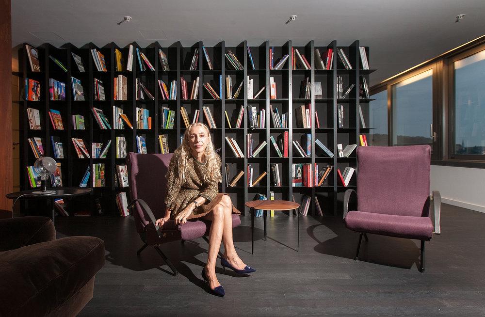Franca Sozzani, Chefin VOUGE Italia - SonntagsZeitung - 2014