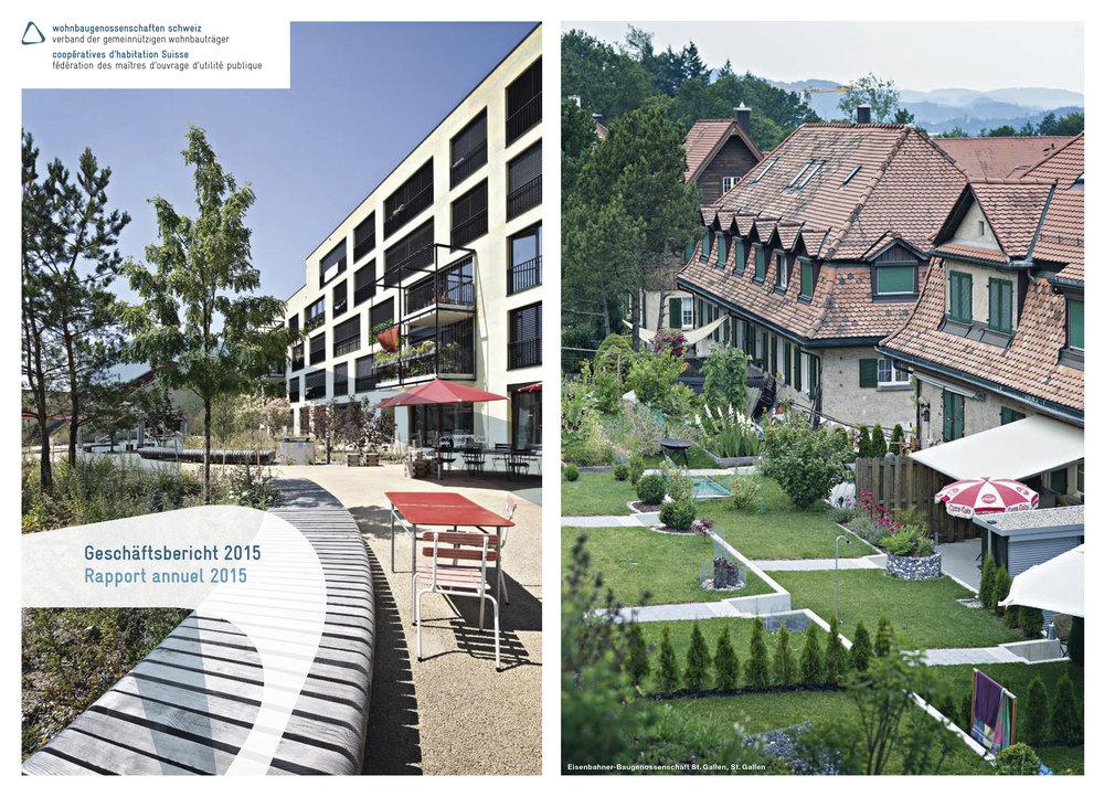 Geschäftsberichte 2015/2016 - WBG Schweiz