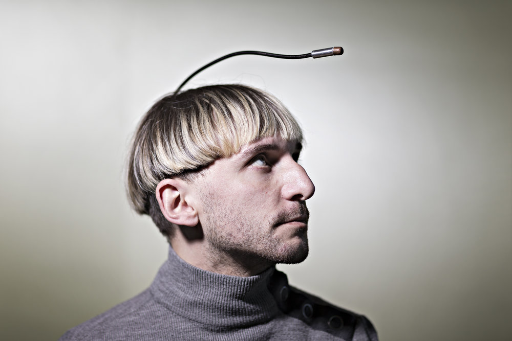 Neil Harbisson, Cyborg - Tages Anzeiger - 2018
