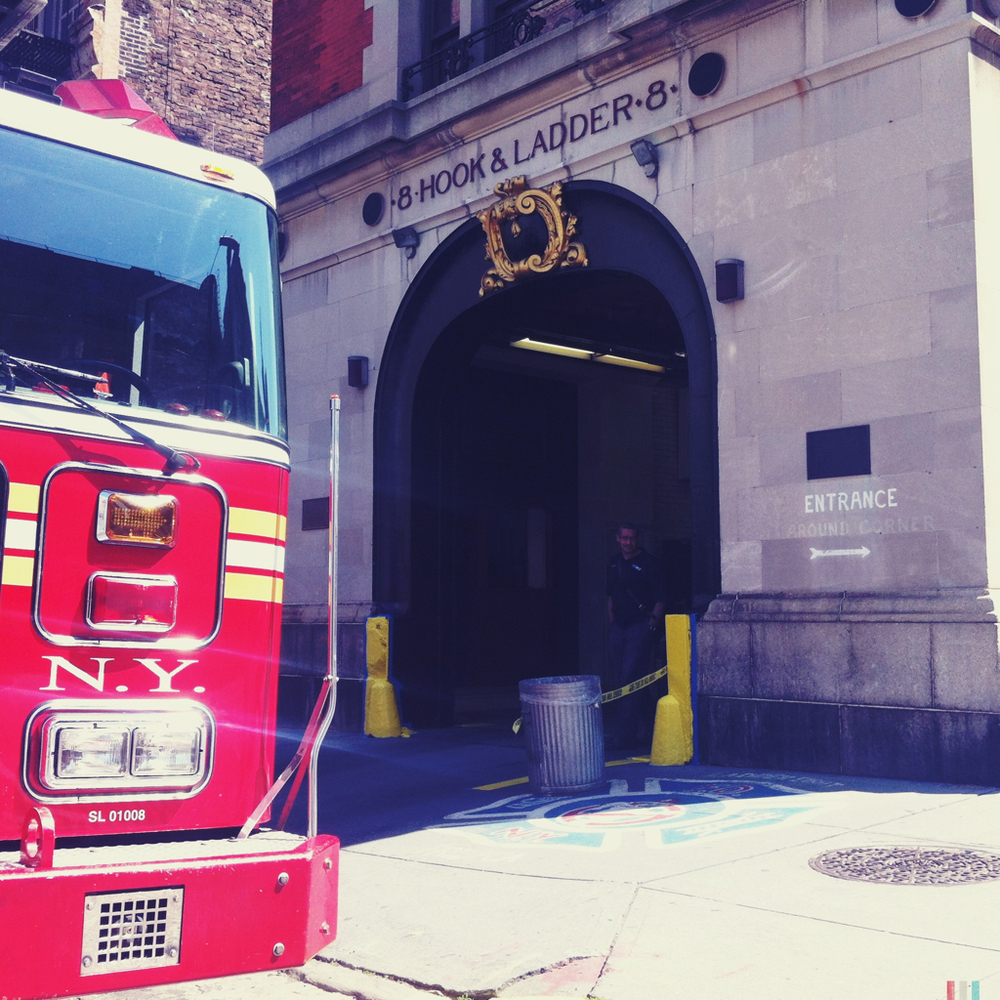 ghostbusters firehouse, tribeca