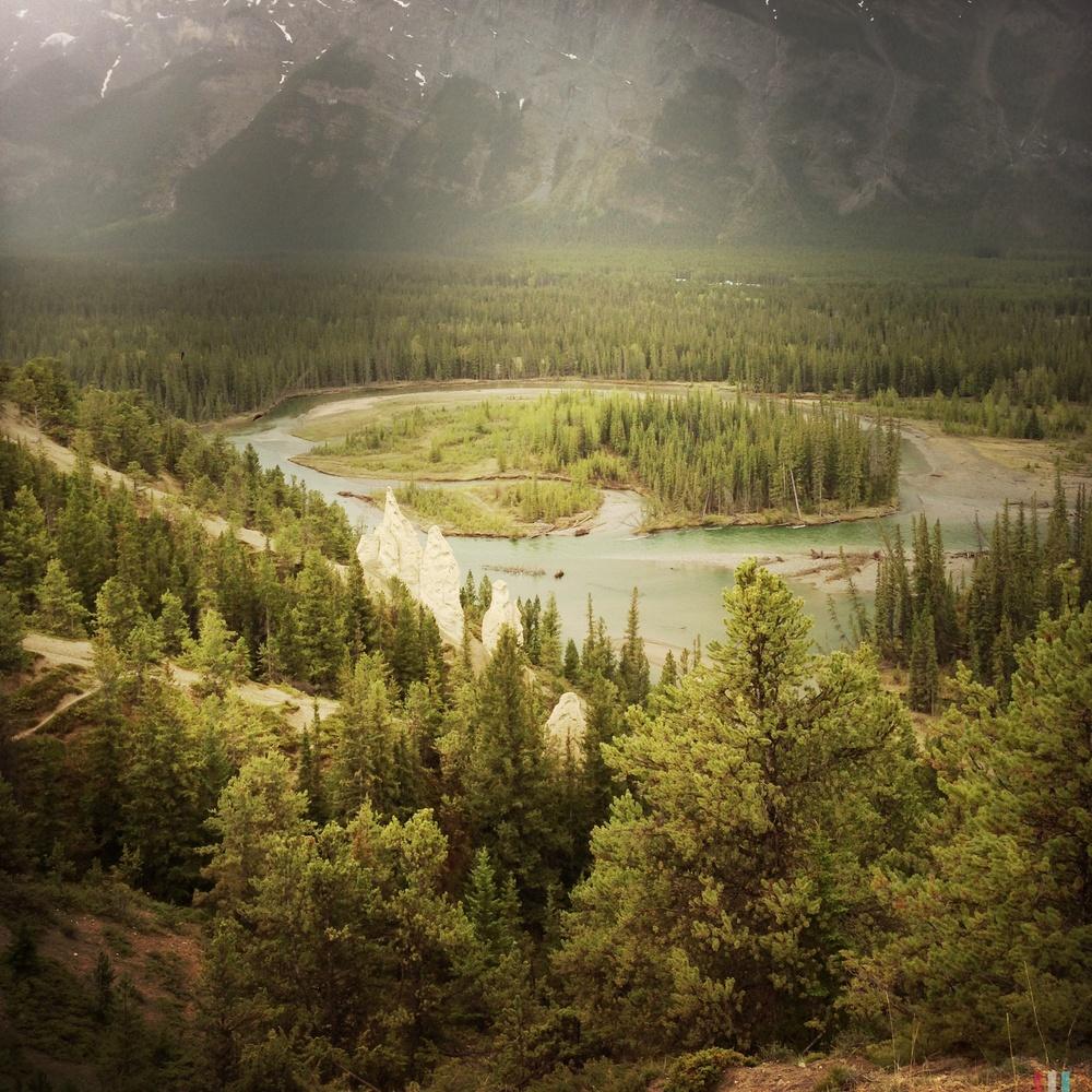 hoodoos, bow valley