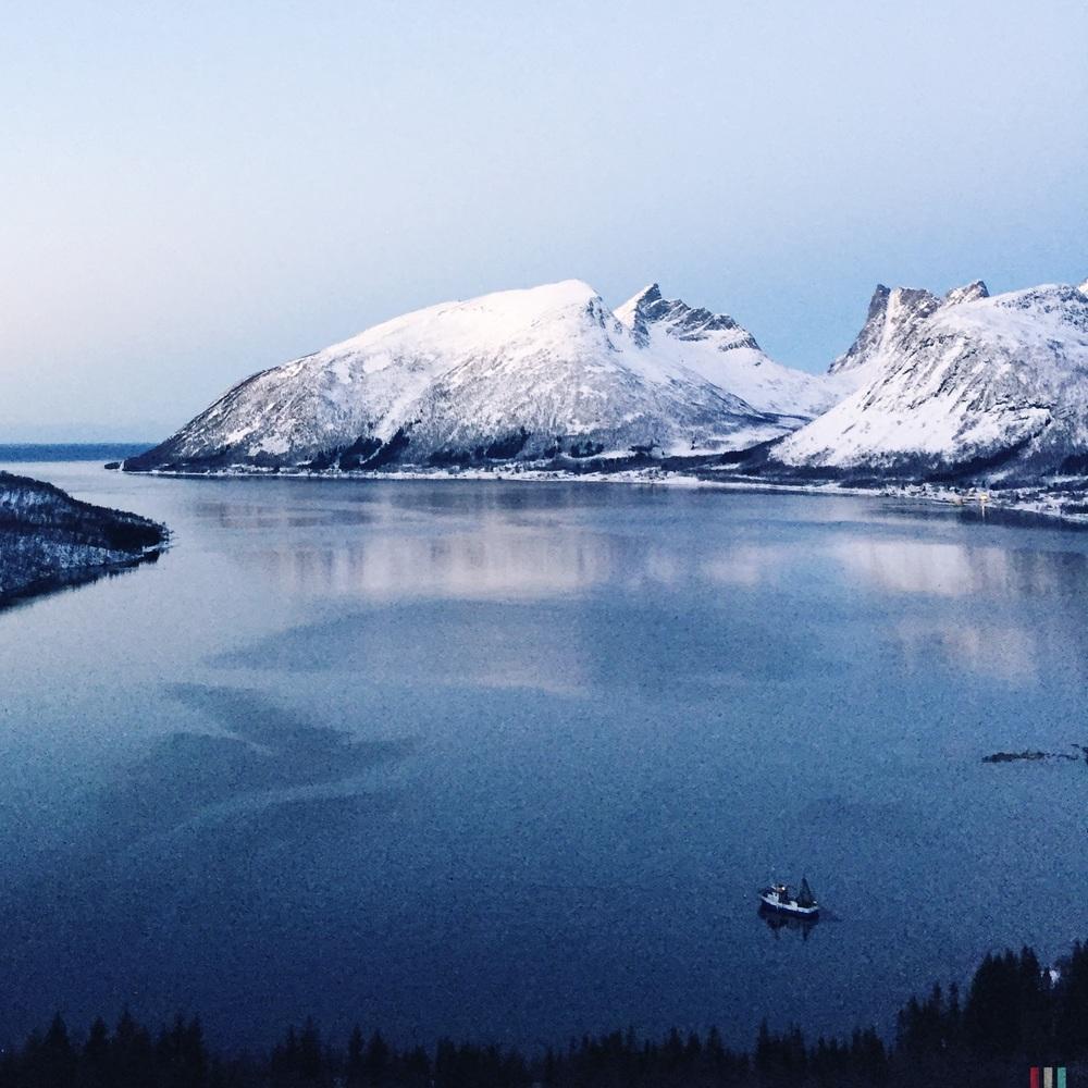 bergsbotn, norwegen