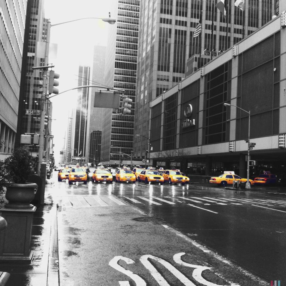 cabs, new york city
