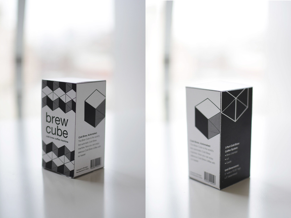 Brew Cube Product Packaging