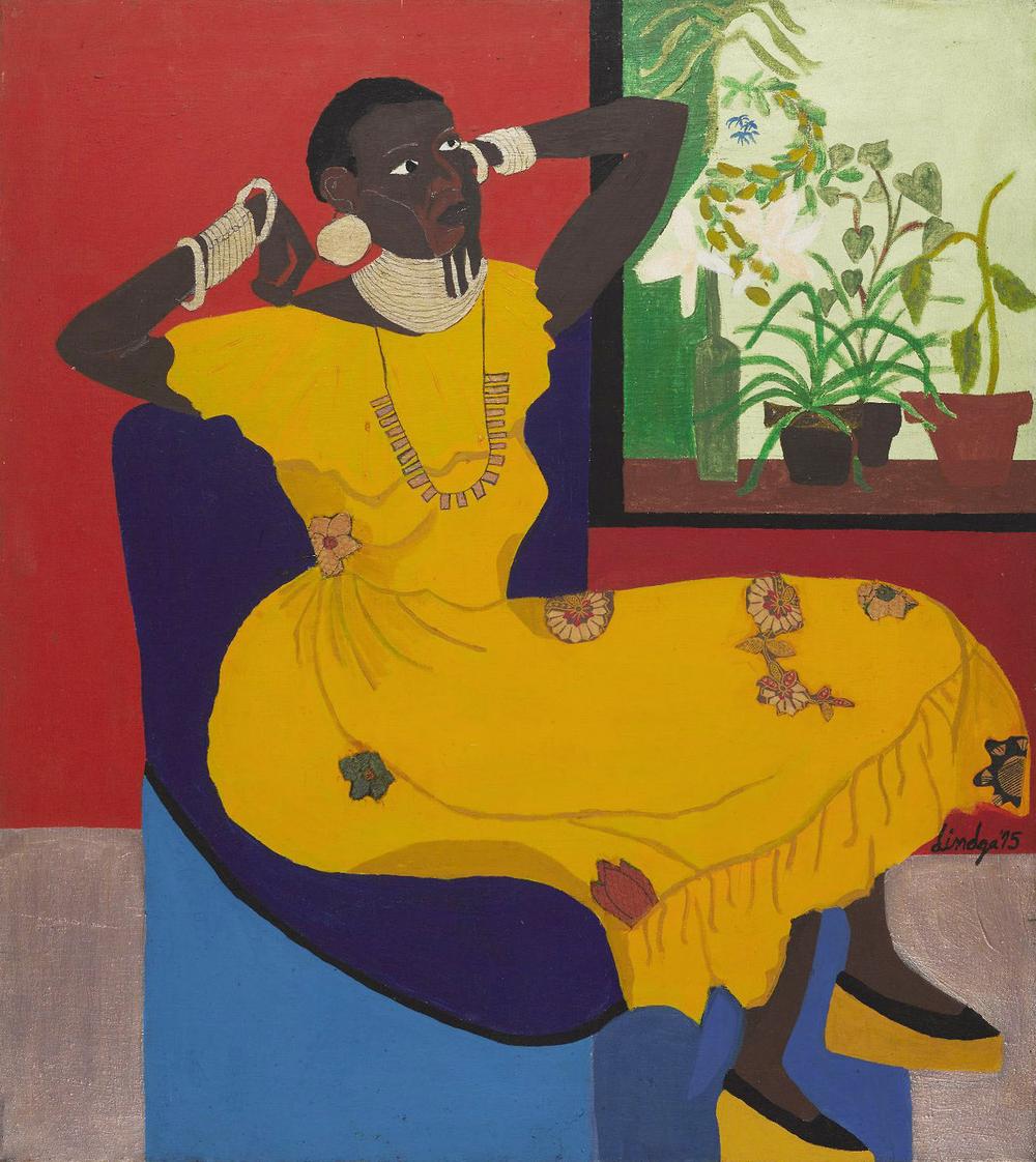 Dindga McCannon .  Empress Akweke , 1975.