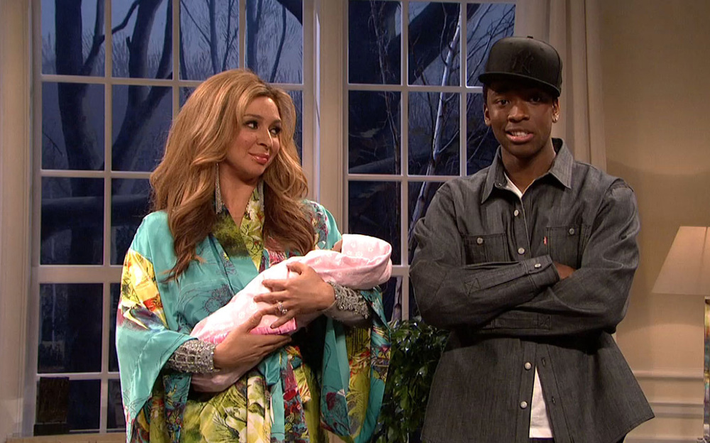 "Maya Rudolph and Jay Pharoah as Beyonce and Jay-Z on ""SNL"""