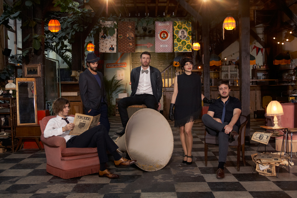 Photo of Caravan Palace courtesy of Frenchculture.org
