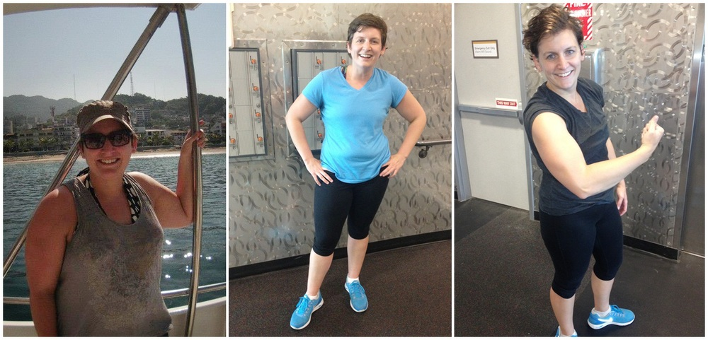 "Beth - 9 months of determination!  ""Lifestyle Evolved has changed my life! Elston has helped me lose more than 35 pounds and has helped me achieve fitness milestones I didn't even know were possible for me! I couldn't run a mile before I started seeing him, but after interval training and circuits, I've completed a 15K and am going to tackle my first half marathon this October. He's helped me slim down and gain muscle…I'm feeling and looking great now :)."""
