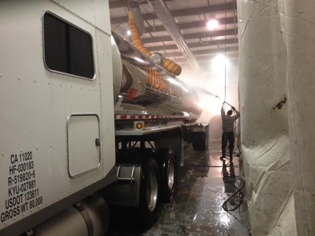 tanker truck wash
