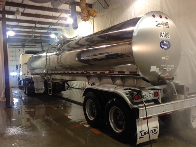 tanker truck washout facility