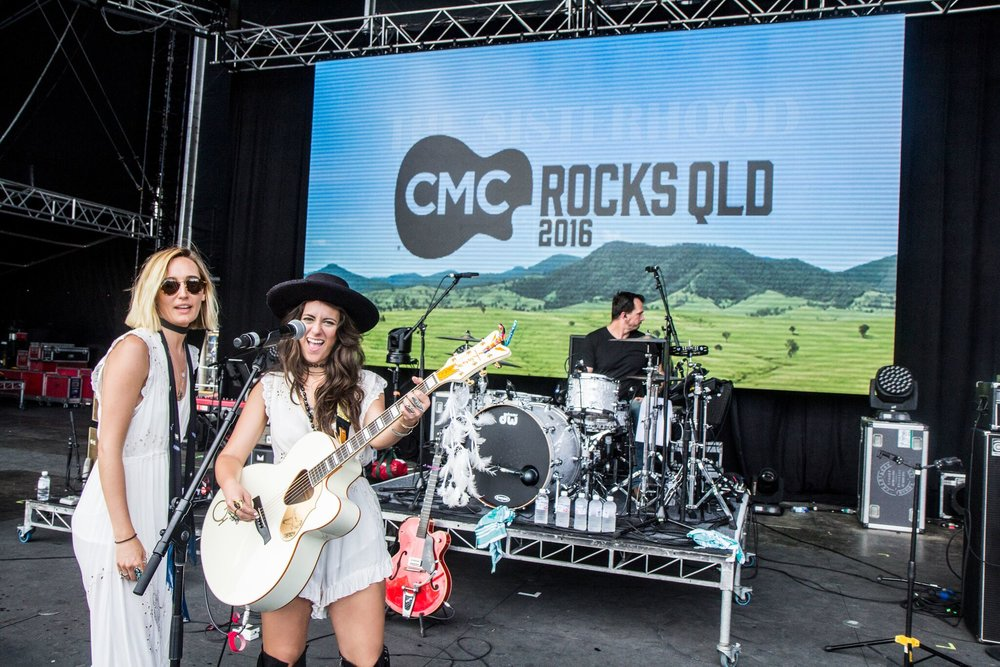 The Sisterhood in Australia at CMC festival.jpg
