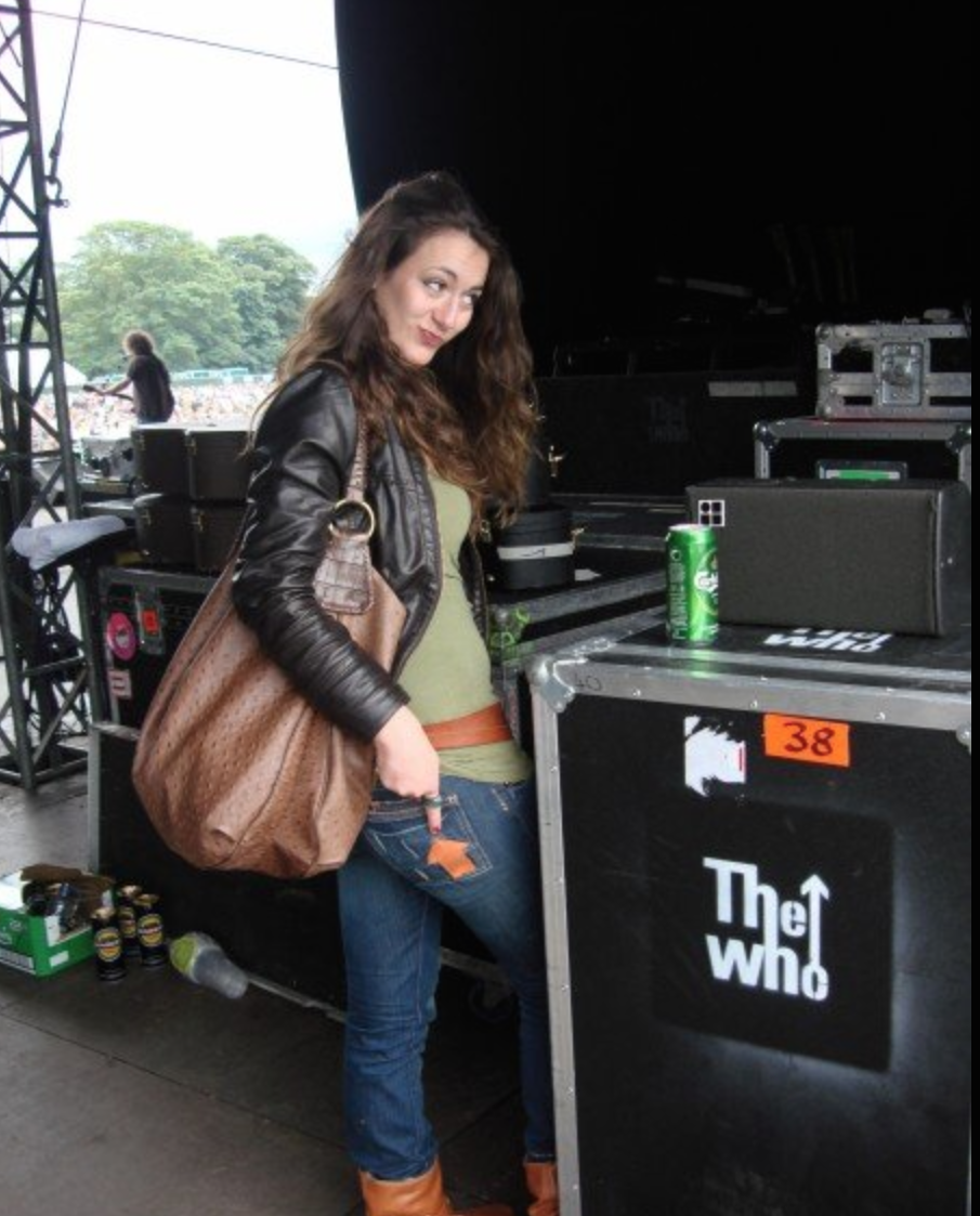 Backstage at Knowsley hall festival opening for THe Who.png