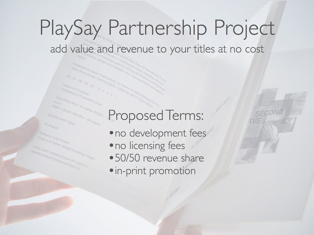 PlaySay Partnership Project
