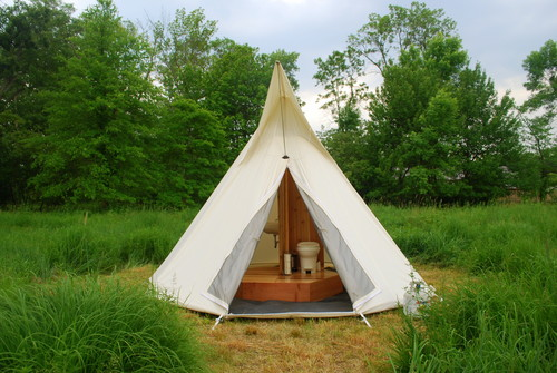 TIPIBATH Under Canvas Events - Camping bathroom tent