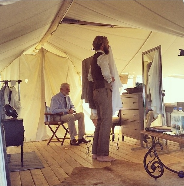 Moab Under Canvas Venue // Safari tents with wooden floors are only available at Under Canvas property venues