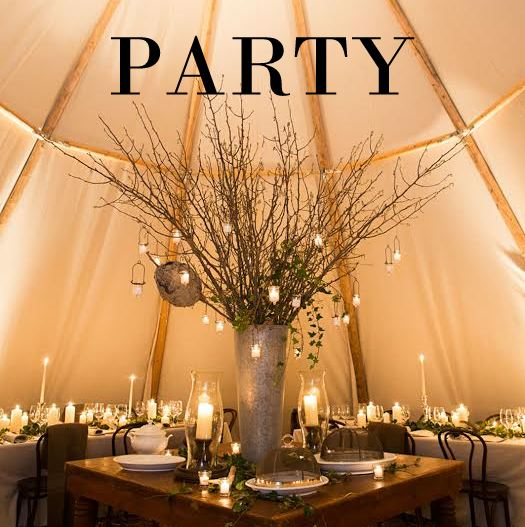 Glamping teepee    tent rental  tent rentals  party rental