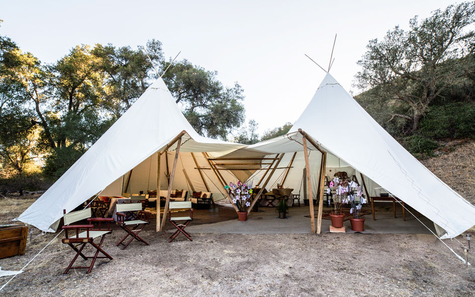 Tipimarqui under canvas events for Canvas tent plans