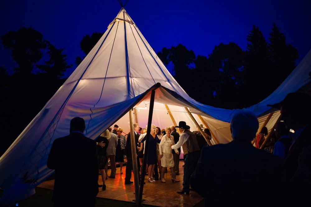 Jackson Hole Wedding Under Canvas Events