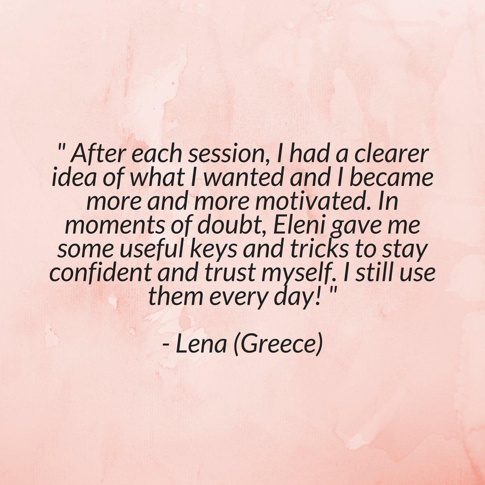 eleni testimonials