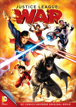 2014 Justice League War the first New 52 adaptation from the Comic Book 2011 relaunch.