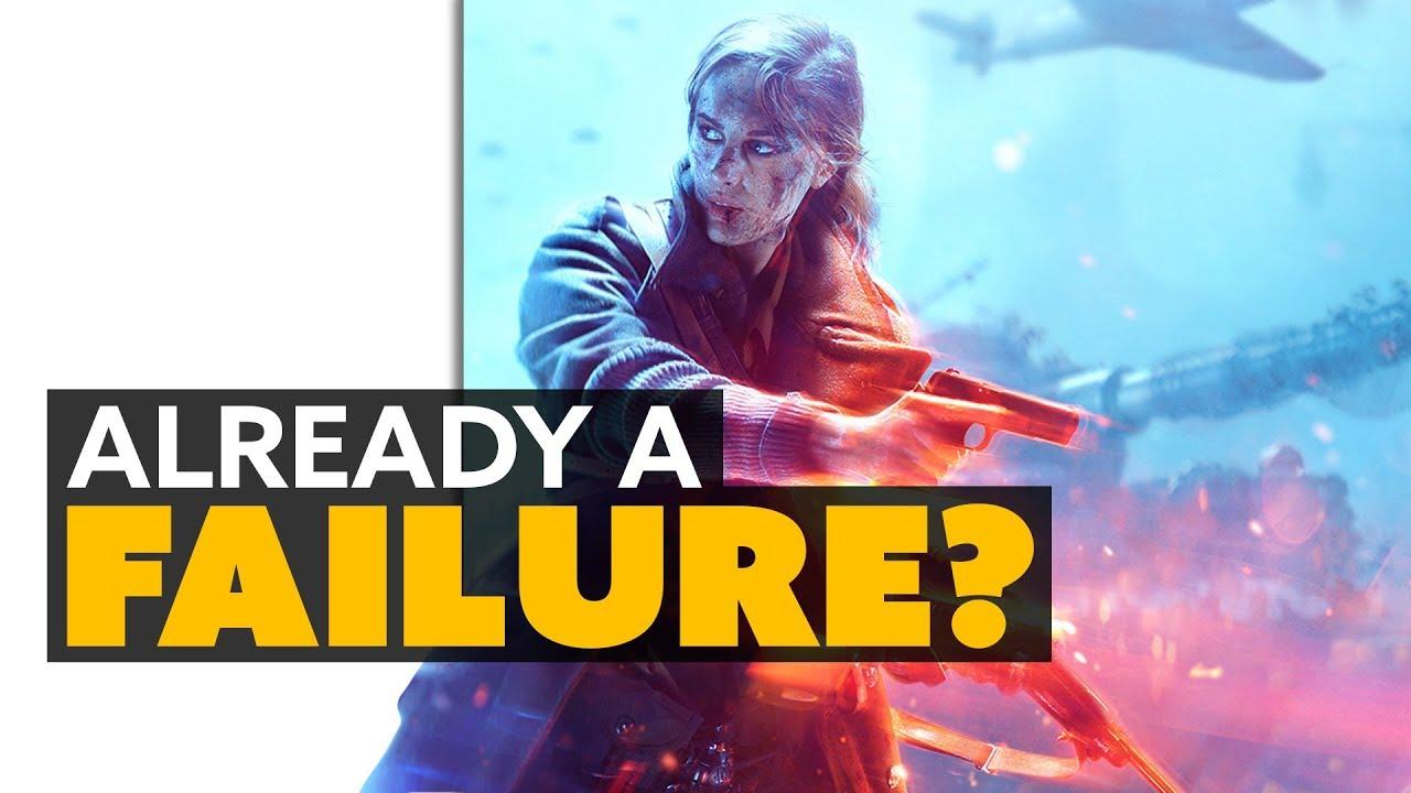 SJW TO BLAME? EA's Battlefield V Pre-Orders WEAK and CEO
