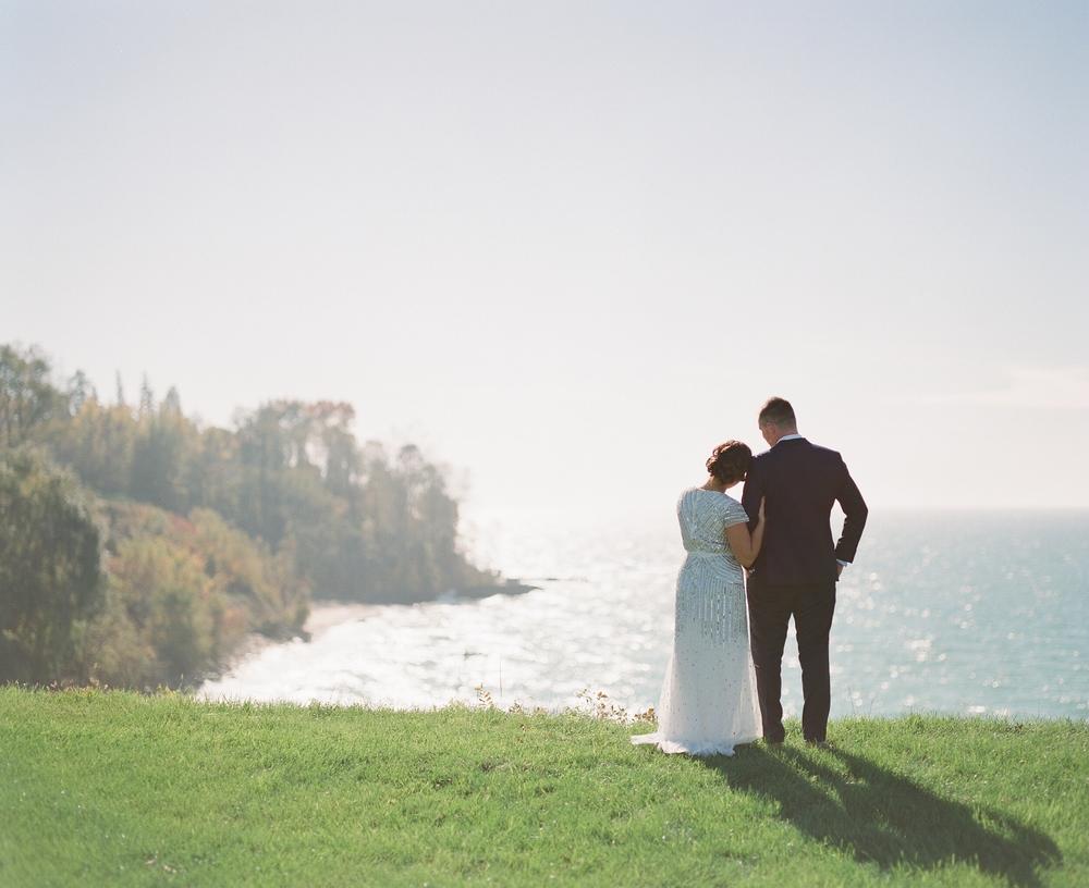 Christiana & Patrick's Michigan Barn Wedding