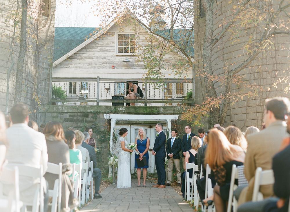 BLUE DRESS BARN MICHIGAN WEDDING | CHRISTIANA