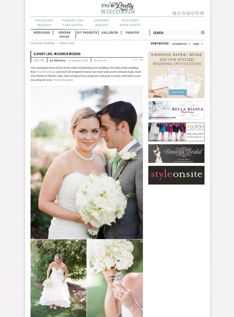 """elkhart lake wedding"", ""osthoff resort wedding"""