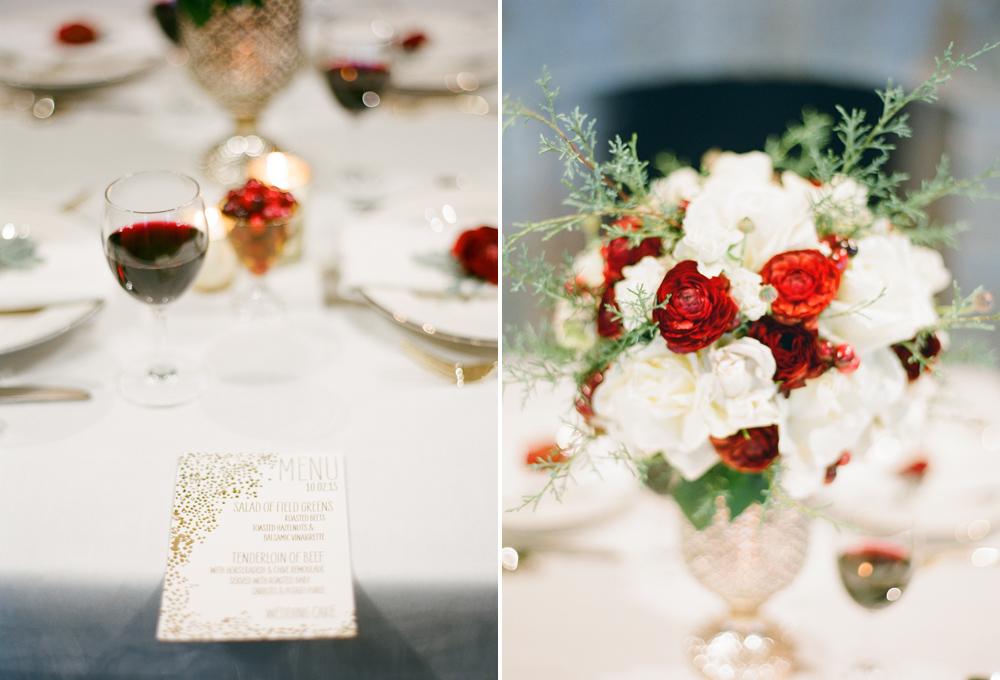 """romantic winter wedding"""